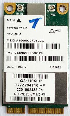 Sierra Wireless 3g Adapter (SIERRA WIRELESS MC8355 WWAN Adapter for Panasonic Toughbook CF-31 CF-19 3G GOBI3)