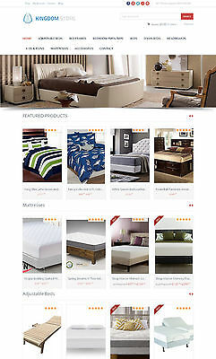 Beds Store - Amazon Affiliate Website Free Hosting