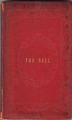 CAMPANOLOGY COLL-THE BELL-REV GATTY 1ST 1848 RARE ANTIQUARIAN COLLECTIBLE VG