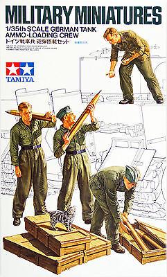 Tamiya 35188 German Tank Ammo Loading Crew Set 1/35 scale kit