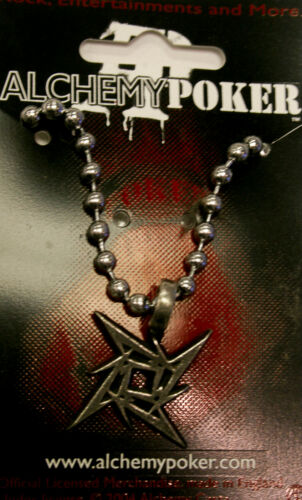Poker Rox Metallica Pendant RARE!!  PP415