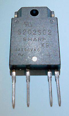 Sharp Opto Solid State Relais SSR S202S02 8A AC 230V Zero-Cross Baustein