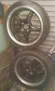 Four 18 inch rims and tyres Ballarat Central Ballarat City Preview