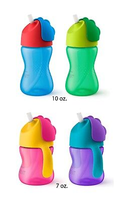 Philips Avent My Bendy Leak Proof Straw Sippy Cups - 2 Pack