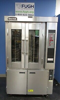 Baxter Electric Rack Oven Model Ov300e With Hpc800 Proofer With Video