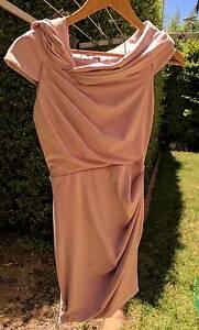 Pastel pink 'Review' dress - Size 6 Queanbeyan Queanbeyan Area Preview