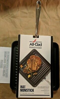 ALL-CLAD METALCRAFTERS HA1 NONSTICK 11 INCH SQUARE GRILL PAN All Clad Square Grill Pan
