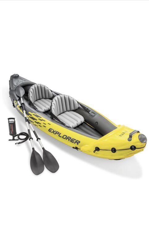 Intex Explorer K2 Kayak 2-Person Inflatable Kayak-Free Shipping