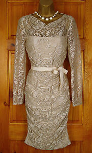 RRP-130-NEW-PHASE-EIGHT-JEMMA-OYSTER-CREAM-LACE-VINTAGE-SUMMER-TEA-PARTY-DRESS