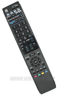 Ersatz Fernbedienung für Sharp GA857WJSA LCD TV AQUOS ()