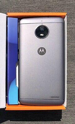 "Motorola Moto E4 4G 5"" Smartphone 16GB  - Iron Grey  Brand New Opened Unused"