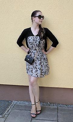 Pepe Jeans Kleid Warhol Gr. XS S 34 36 taupe beige sommer print pop (Pop Art Kleid)