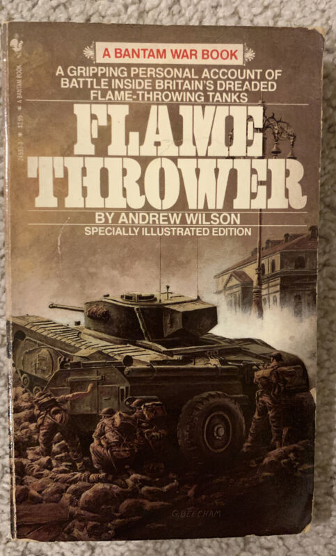 Flame Thrower (Tanks) by Andrew Wilson Paperback