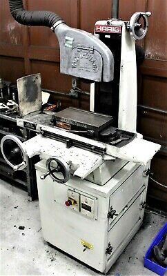 Harig Model 612 Manual 6x12 Surface Grinder Wblower