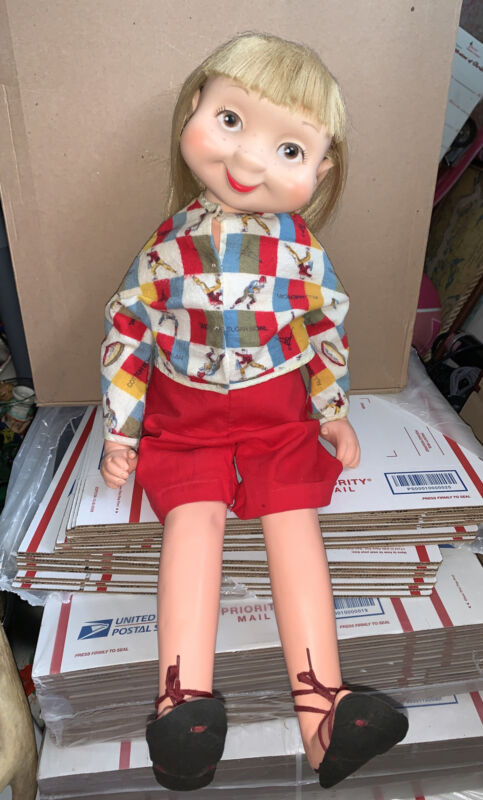 Vintage Wimsies Doll Tillie The Talker 1960 Whimsies