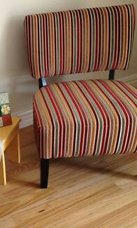 Striped armchair - don't miss this one!