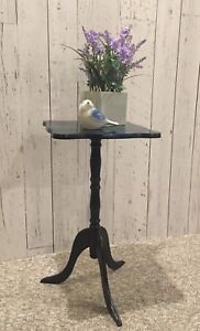 VINTAGE END TABLE (UNICORN SPIT)