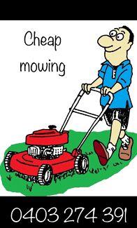 Cheap Mowing