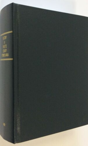 History of Fayette County Pennsylvania 1882 Reprint Hardcover Book