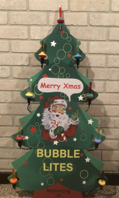 Vintage Style Noma Bubble Light Store Display