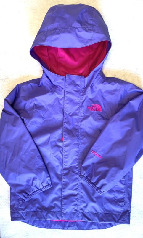 The North Face Toddler Girls Windbreaker Rain Jacket HyVent Purple & Pink Sz 3T