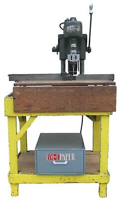 Challenge Style M Single Spindle Paper Drill Drilling Machine
