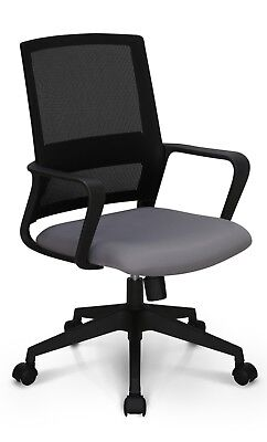 Office Chair Conference Room Chair Desk Computer Mesh Chair Study Mesh Gray