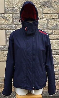 ** SUPERDRY ** Men's Hooded Arctic Windcheater Fleece Lined Jacket Coat M MEDIUM