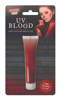 V Fake Blood Gel Tube Wounds Scars Zombie Vampire Halloween  (Vampir Facepaint)