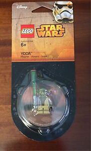 Lego Star Wars Yoda Magnet 853476, Nuevo