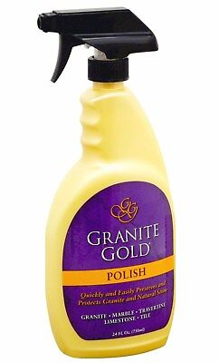 Granite Gold 24Oz Trigger Spray Polish Granite Marble Travertine   Quartz Gg0043