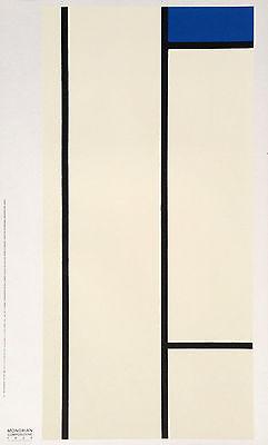 Piet Mondrian Blue