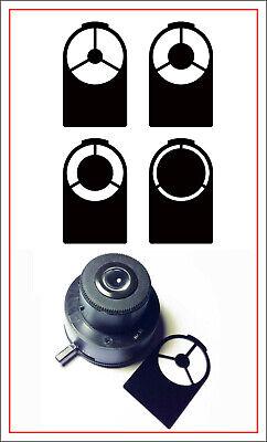 Microscope Darkfield Set For Older Leitz Condenser