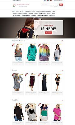 Womens Clothing Store - Custom Amazon Affiliate Website Shopping Cart