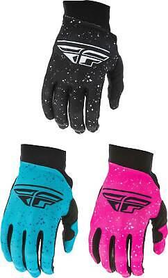 Fly Racing Women's Pro Lite Gloves - MX Motocross Dirt Bike Off-Road ATV MTB Lite Womens Bike Glove