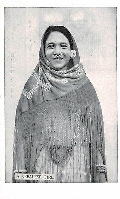 Nepal,Tibet,India,A Nepalese Woman,Ethnic,c.1950s