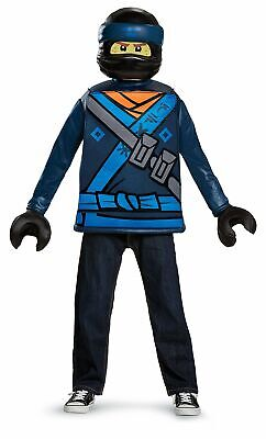 Jay Ninjago Costume (Disguise Lego Ninjago Movie Jay Classic Boys Costume, Size Small)