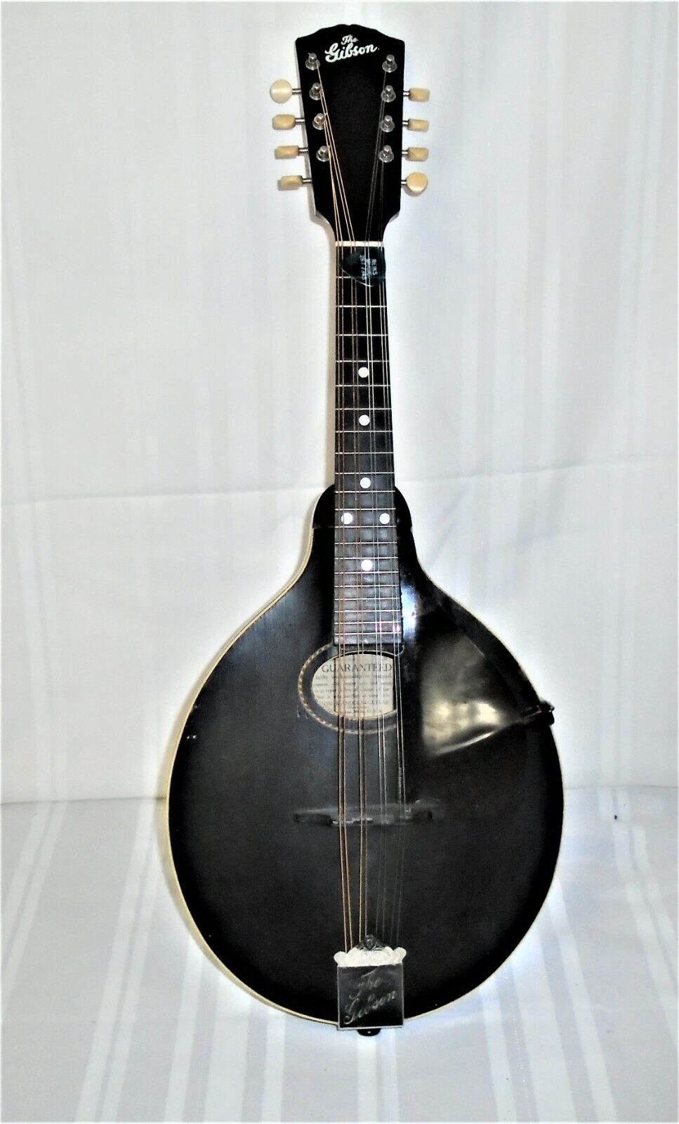 VINTAGE THE GIBSON MANDOLIN MODEL A 1913 WITH NEW HARD CASE FREE SHIPPING FR - $1,100.00