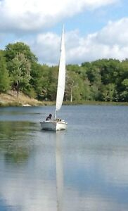16' Wayfarer Sailboat with trailer