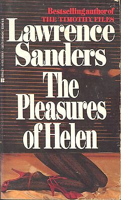 The Pleasures of Helen by Lawrence Sanders (1986, Paperback, Reprint)