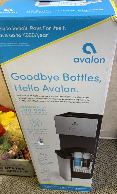 Avalon A5 self cleaning Bottleless Water Cooler Dispenser-Gray