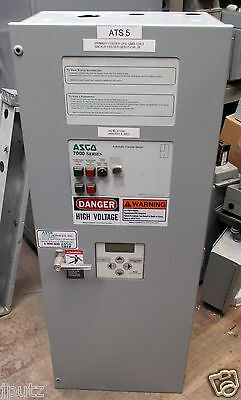 Asco 7000 Series 150a 208y120 60 Hz 3 Ph Automatic Transfer Switch