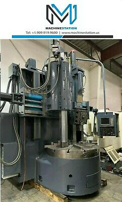 Bullard Dynatrol 56 Cnc Vertical Boring Turning Center Vtl Lathe Fanuc 16t