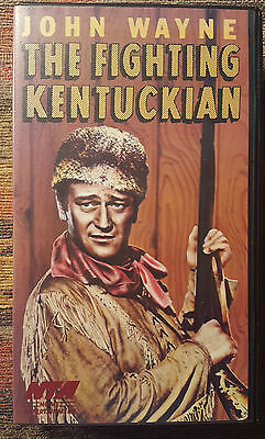 The Fighting Kentuckian (VHS) Clam Shell Jewel (Fighting Clam)