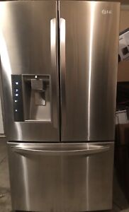 LG  French door stainless refrigerator
