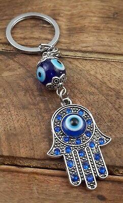 Evil Eye Keychain Hamsa Fatima Hand Protection Charm Key Chain Good Luck - Evil Eye Good Luck Chain