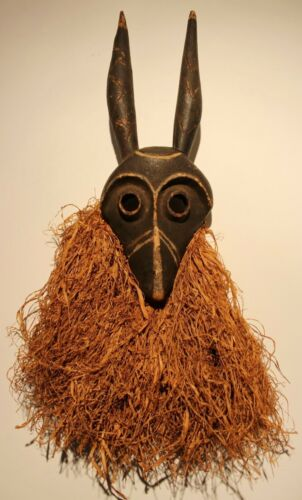 CONGO old african mask ancien masque d