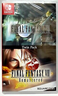 Final Fantasy VII and VIII Remastered Twin Pack - Nintendo Switch