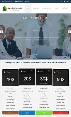 Seo Backlinks Selling Website For Sale Turnkey Website Free Hosting