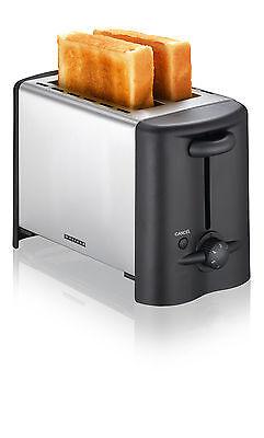 Edelstahl Toaster 2 Schlitz Brötchenaufsatz Autostop Temperatursensor Krümmel